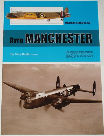 Avro Manchester, by Tony Buttler